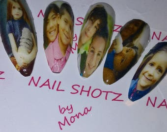 Photography, Photos, Pictures on Nails, Photos on Nails, Photo Nail Art, Picture