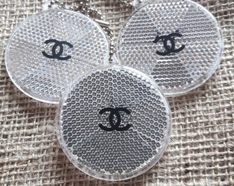 Chanel logo stickers