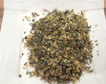 Organic Herb tea: For the common cold