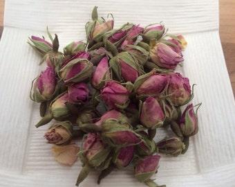 Organic Herb Tea: Rose buds