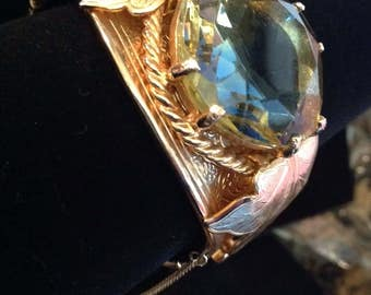 "Vintage 1960's SARAH Cov ""Versailles"" Bracelet"
