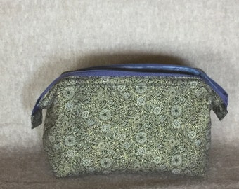 Metal Framed Fabric Case