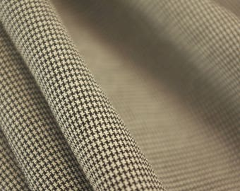 Ultra Fine Dogtooth Fabric