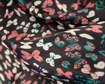 Flock Of Butterflies Fabric