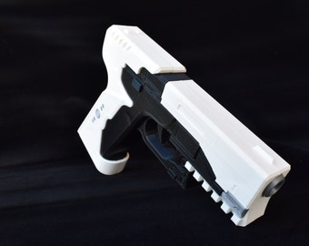 Major's Thermoptic Pistol from Ghost in the Shell  (Movie Accurate - 3D Printed)