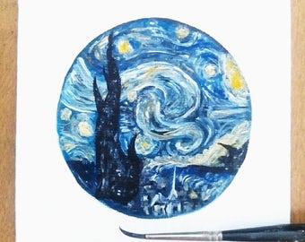 Van Gough's Starry Night - Mini