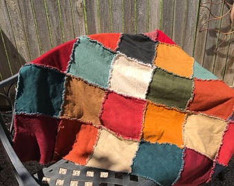 Made-to-Order Flannel Rag quilt