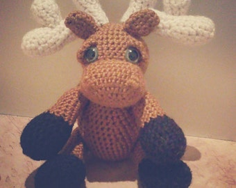 Canadian Moose - Crocheted Plushy