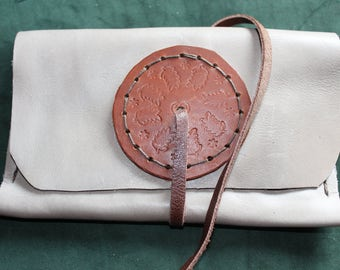 soft leather tobacco pouch