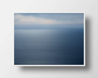 ocean photography seascape nautical print blue art nautical art ocean print blue decor ocean art nature print relaxing print soothing art