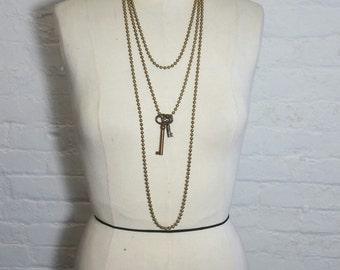 Skeleton Key Necklace