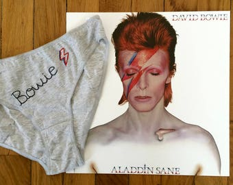 """Groupie Panties - """"the Stars"""" - Bowie"""