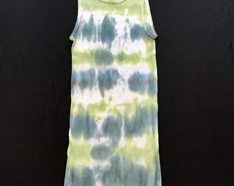 Medium Green Tie-Dye Tank
