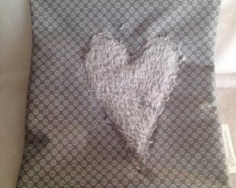 Sleep well pillow with pine shavings Swiss stone pine cushion 20 x 20 cm
