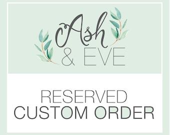 Custom Candle Order