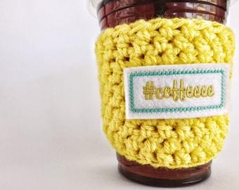 Coffee Cup Sleeve, Cup Cozy, Coffee Cozy
