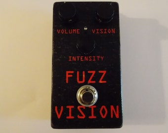 Mid Valley Fx - Fuzz vision - brand splatty fuzz guitar pedal