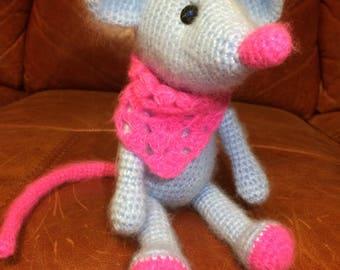 Mouse doll Amigurumi Crochet toys Crochet Mouse, Crochet Bunny, Crochet Koala, Crochet Doll, gift for girl, gift for child, koala teddy bear