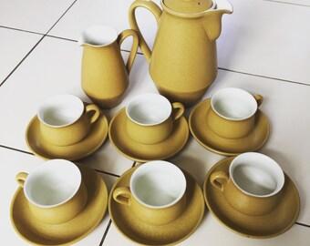 Vintage Denby tea set