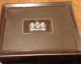 Vintage Tobacciana Cigar Box Mark IV Magnates Plastic Tool Decor