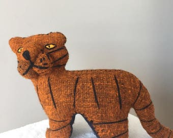 "Handmade stuffed animal ""TIGER"""