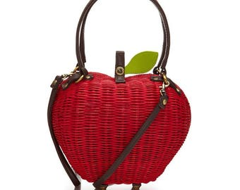 Apple purse by ollie & nic