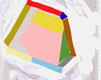 Art Book contemporary geometric digital prints #13