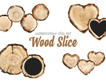 Wooden Slices Clip Art Tree Slice Clip Art