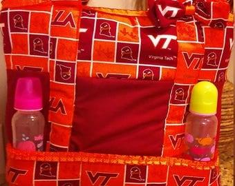 Virginia Tech Diaper Bag/ Tote