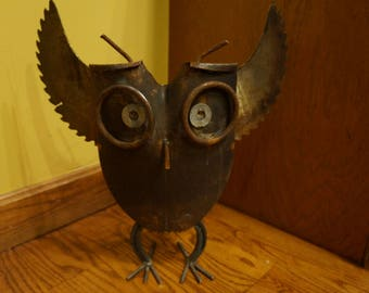 Welded Owl Art