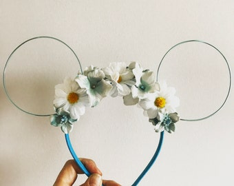 Summer Blue Disney Ears