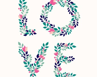 Floral Love - Digital Download