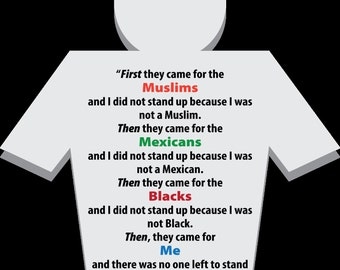"""Anonymous American - """"First they came for the Muslims..."""""""