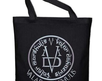 Valar Morghulis Dohaeris GOT fabric cotton bag