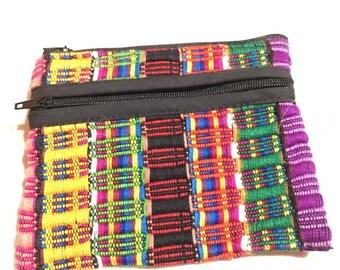 Guatemalan handmade coin bag