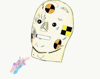 Crash Test Head