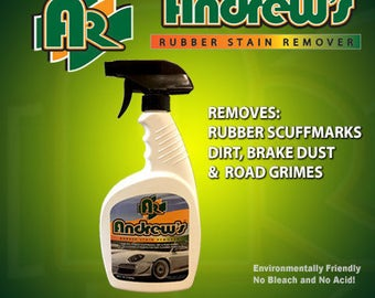 Andrew's Rubber Stain Remover