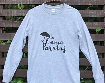 In Omnia Paratus tshirt