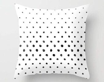 Polka Dot Pillow, Polka Dot Pattern Pillow, Throw Pillow, Square Pillow, home decor, housewarming gift, cushion cover, decorative pillow