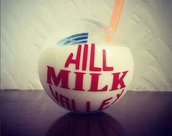 Back to the future 2 Hill Valley milk bottle replica Prop
