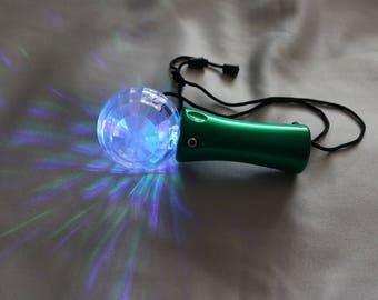 Flashing disco light