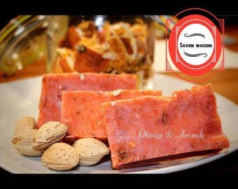 SOAP Orange & almond