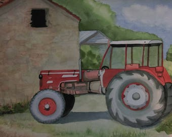 Le tracteur (the French Tractor)