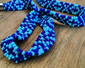 Sead Hand Beaded Choker Necklace Handmade Free Shipping