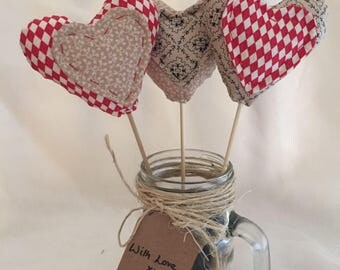 The jar of hearts would make a beutfiful unique birthday or anniversary gift for that someone special.