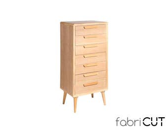 Dresser, natural chest 7 drawers