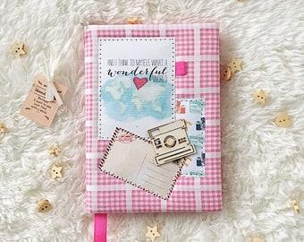 Notebook handmade, planner, diary, gift, travelbook