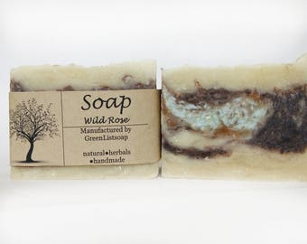 Rosehip soap, Father's Day, Natural Soap, Handmade Soap, Cold Process Soap, Bar Soap, Vegan Soap, Soap making, Soap favors, Organic soap