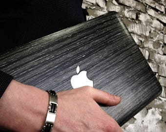 """Real Wood Case for Macbook Air 11"""" (wooden case, protective skin, decal sticker, shell) - ABACHI WOOD MULTIBUSINESS"""