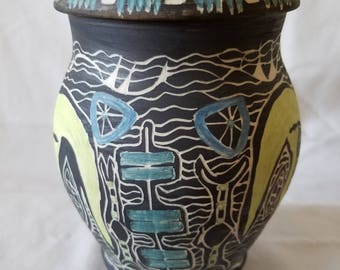 Hand Made Pottery Jar #2